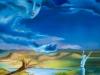 Dem Himmel so nah 100 x 80cm